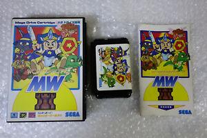 Wonder-Boy-V-Monster-World-III-034-Good-Condition-034-Sega-Megadrive-Japan