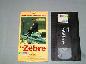 Le-Zebre-VHS-French-Thierry-Lhermitte-Caroline-Cellier-Teste