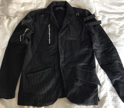 Tripp NYC Pin Stripe Steam Punk Jacket