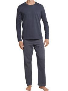 cdfddc70593d5c Details zu Schiesser Herren Jersey Pyjama Schlafanzug 48 50 52 54 56 58  *159633* NEU