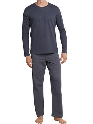 d01bf930d85f7a Schiesser Herren Jersey Pyjama Schlafanzug 48 50 52 54 56 58 *159633* NEU |  eBay