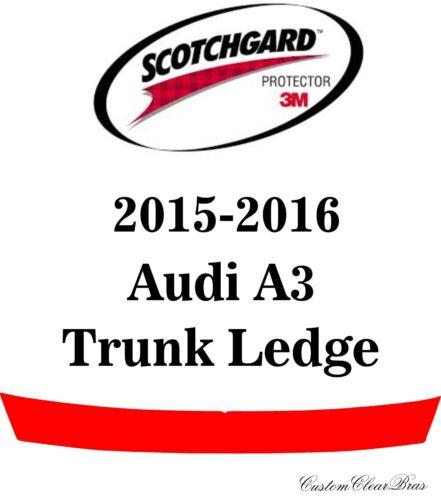 Genuine 3M Scotchgard Paint Protection Film Clear Bra Pre-Cut 2015 2016 Audi A3