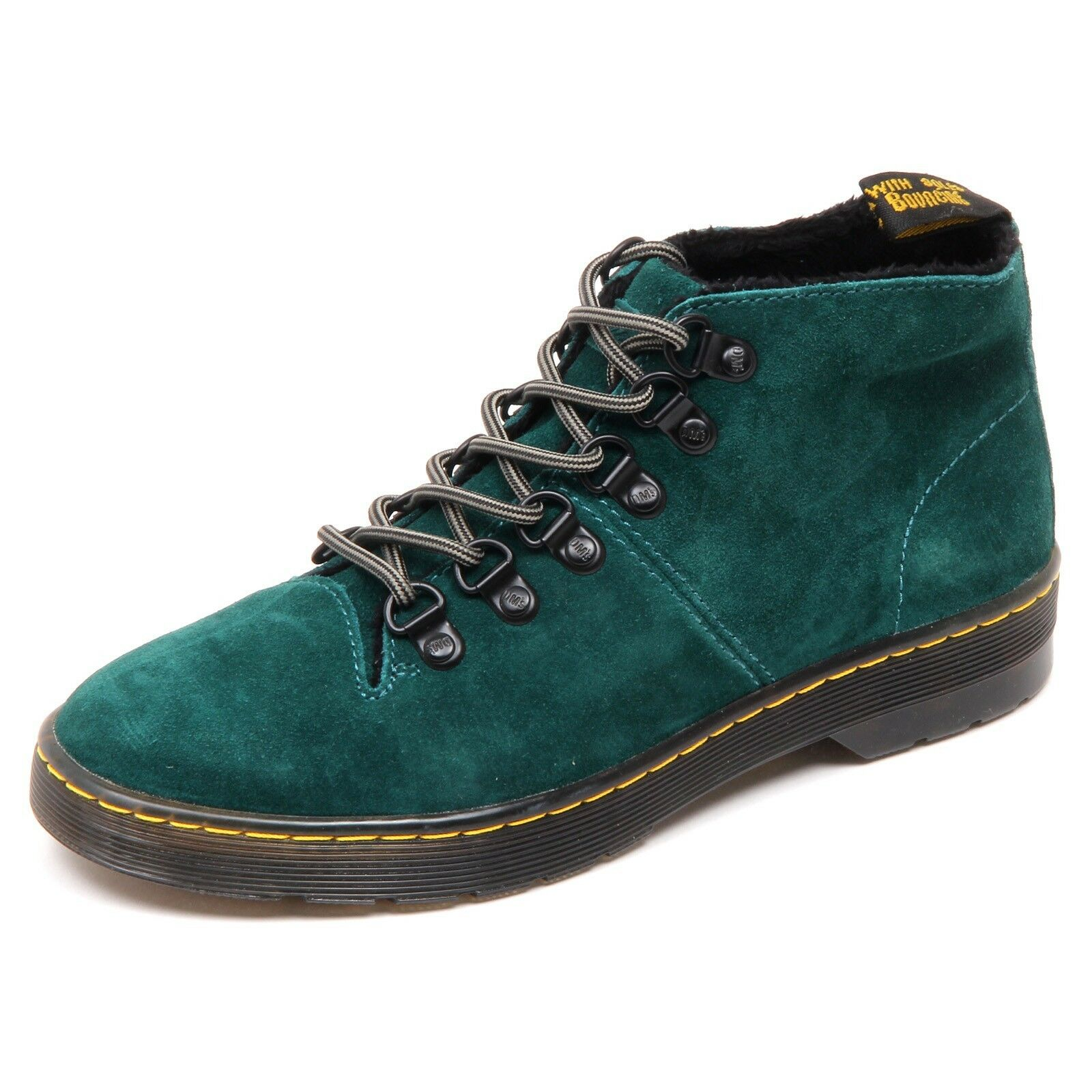 D3982 (without box) green scarpa donna DR MARTENS LAHAVA boot shoe woman