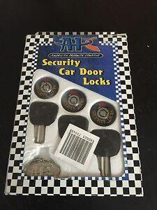 Image is loading APC-Security-Door-Locks-With-Keys-Car-Truck- & APC Security Door Locks With Keys Car/Truck/Van Universal Fit | eBay