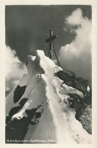 AK-vom-Grossglockner-mit-Gipfelkreuz-Kaernten-J2
