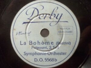 Symphonie-Orchester-034-La-Boheme-034-Potpourri-Derby-1929