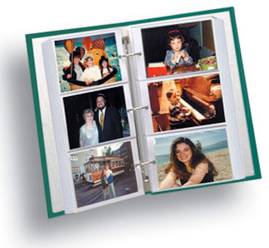 Pioneer Rst 6 Photo Album Refills 4x6 3 Ring 50 Pages 300 Pics Ebay