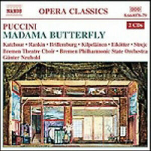 G.Puccini - MADAMA BUTTERFLY Opera Completa 2 CD Libretto Sigillato - Italia - G.Puccini - MADAMA BUTTERFLY Opera Completa 2 CD Libretto Sigillato - Italia
