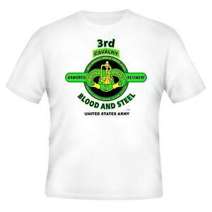3RD ARMORED CAVALRY REGIMENT& OPERATION IRAQI FREEDOM VETERAN UNIT 2-SIDED SHIRT