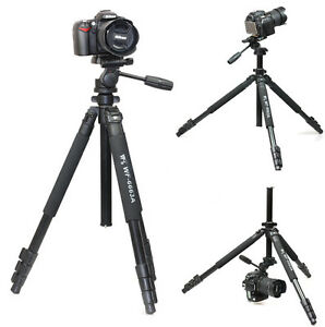 Pro-Tripod-for-camera-Camcorder-Binoculars-video-include-head-Weifeng-WF-6663A