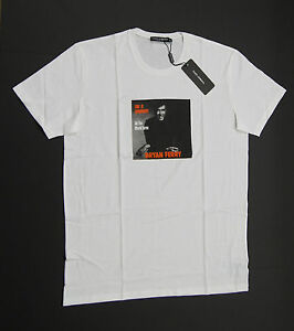 7350f19f DOLCE&GABBANA 'Bryan Ferry' This is Tomorrow White T-Shirts NEW NWT ...