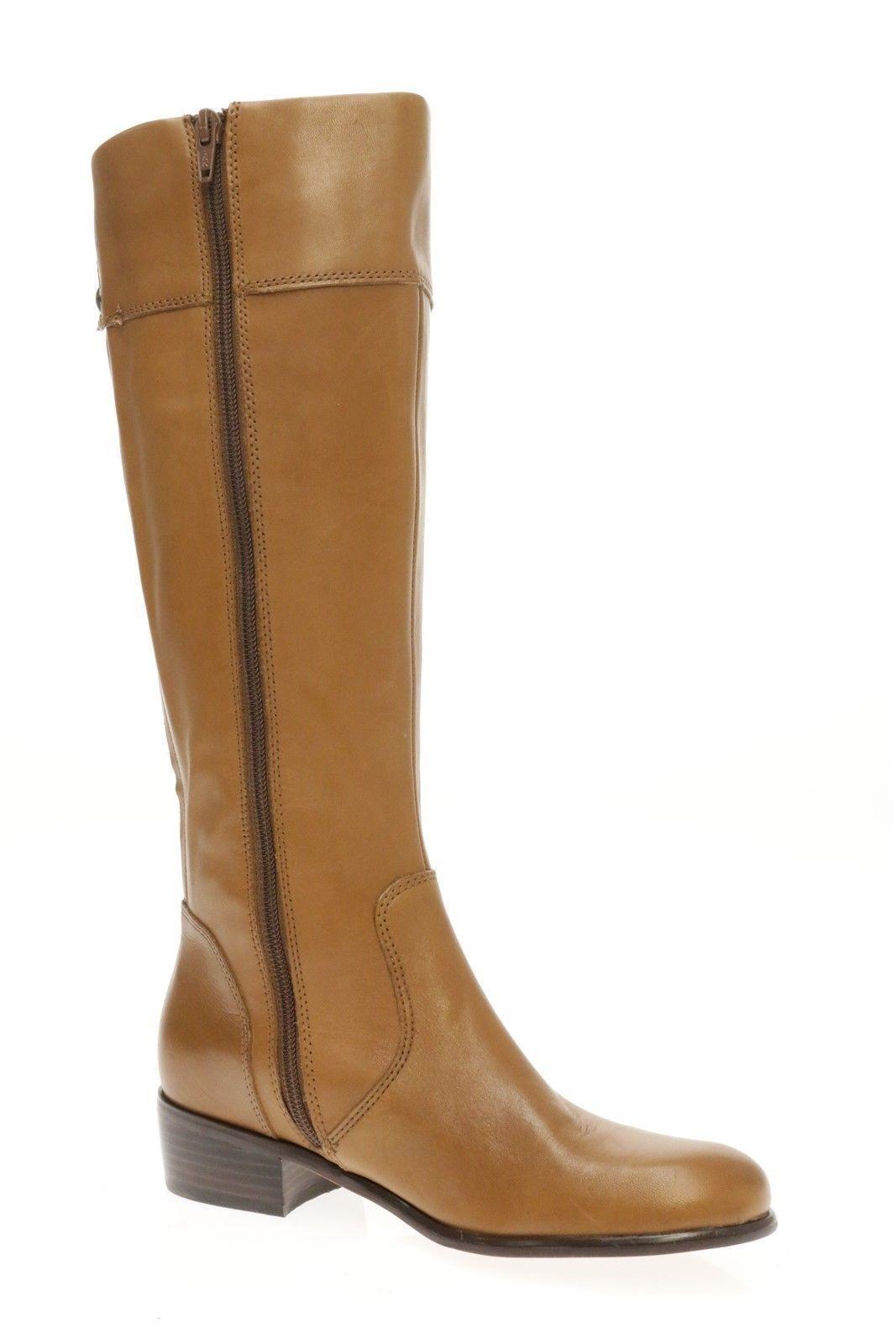 Corso como para mujeres rodilla Cuero Marrón Bronceado la rodilla mujeres Botas altas Zapatos 3a75e5