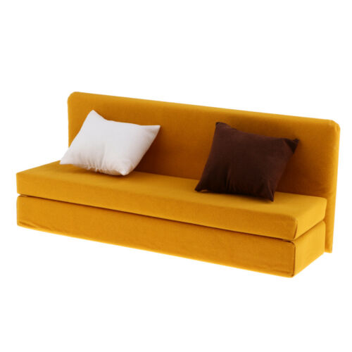 Hot Toys//Sideshow Yellow 1//6 Scale Sofa Action Figure Long Sofa for 12in