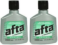 Afta Original After Shave Lotion With Skin Conditioner By Mennen 3 Oz (2 Pack) on sale