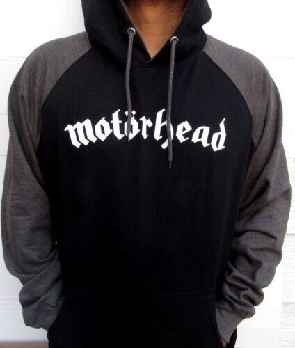MOTORHEAD TWO TONES HOODIES PUNK ROCK BLACK  MEN/'S SIZES