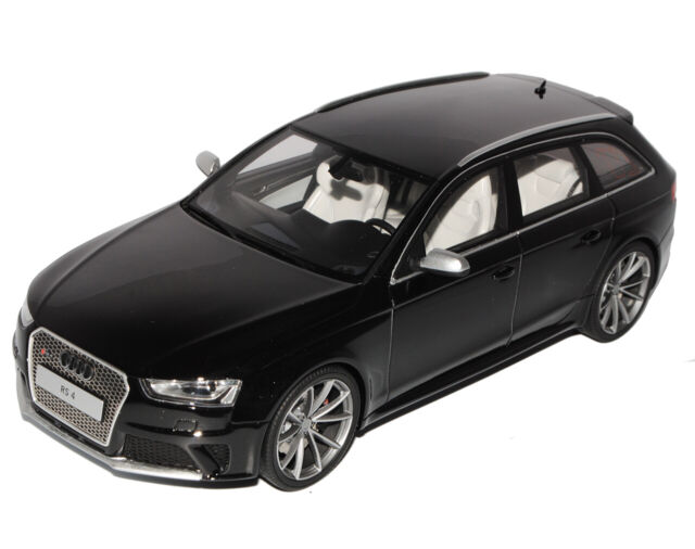 limited 1//750 GT Spirit 726 Audi RS4 B8 schwarz 2012 1:18