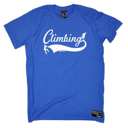 Climbing Horizontal Design T-SHIRT Climber Bouldering Rock Gift birthday funny