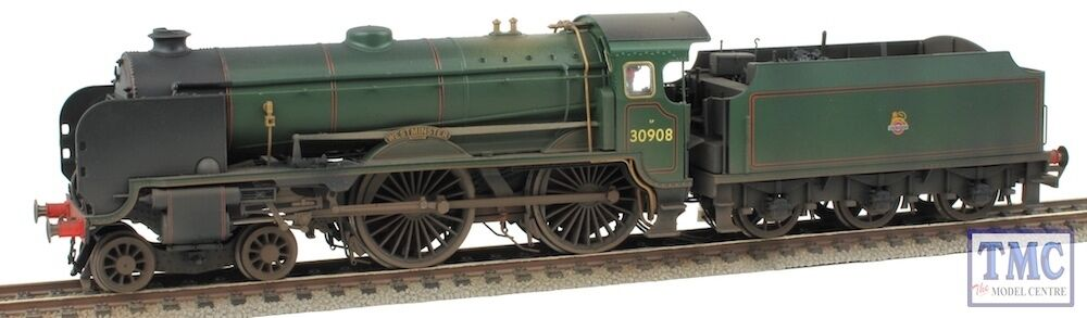 R3311 Hornby OO westminster 30908 Schools Early BR Real Coal & TMC Weatherosso