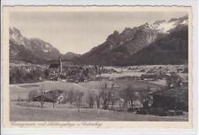 AK Grossgmain mit Lattengebirge und Untersberg, 1943