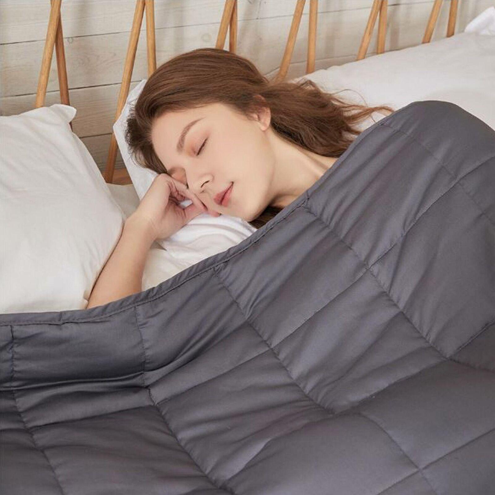 9kg 153 x 203cm Gewichtsdecke Sensory Gewichtete Therapiedecke Weighted Blanket