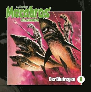 DAN-SHOCKER-MACABROS-CLASSICS-BLUTREGEN-FOLGE-9-CD-NEW