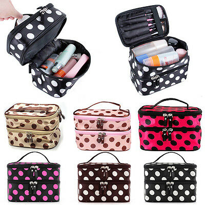 New Beauty Makeup Cosmetic Bag Travel Toiletry Wash Case Organizer Handbag