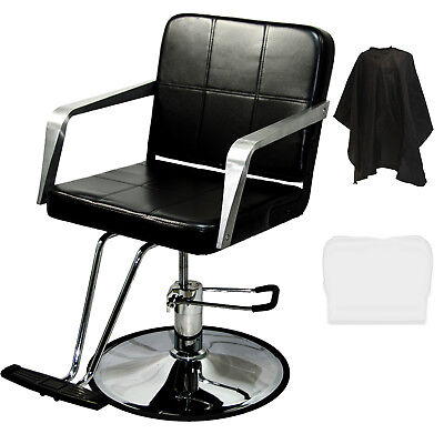 Awesome Professional Black Hydraulic Barber Chair Styling Salon Spa Beauty Equipment Pabps2019 Chair Design Images Pabps2019Com