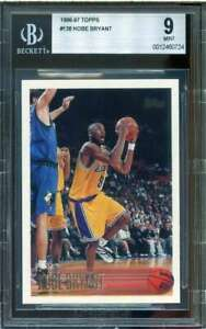 Kobe-Bryant-Rookie-Card-1996-97-Topps-138-BGS-9