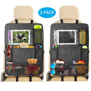 Car Auto Seat Back Organizer Holder 7 Pocket ipad Travel Storage Bag Hanger 2pcs