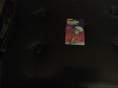 Spongebob Card Spongebob Pineapple Arcade Coin Pusher Game no barcode//stamp