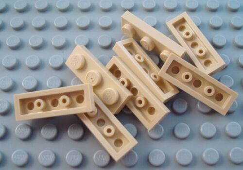 New LEGO Lot of 8 Tan 1x3 Flat Building Plates