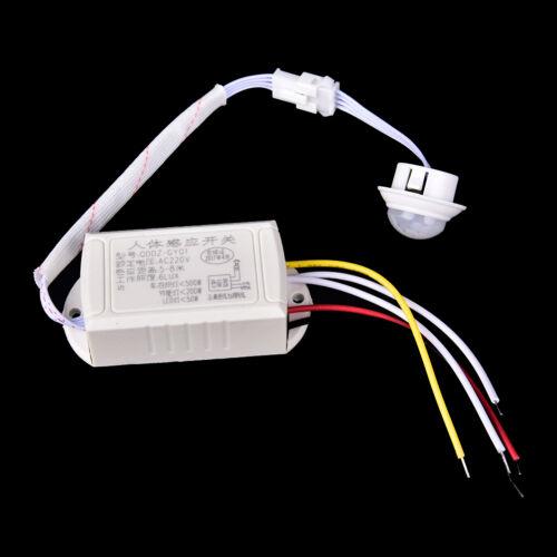 IR-Infrarot-Körper-Bewegungs-Sensor-automatischer hellerLampenSteuerschalter  YR