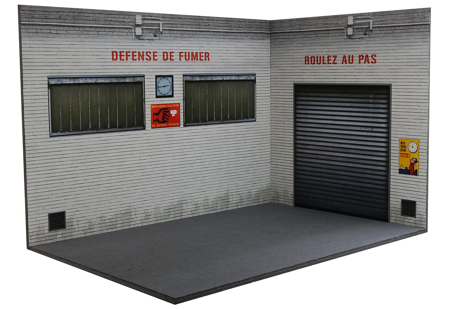 Workshop garage diorama   workshop - 1 18ème -  18-3-f-ax-ay-001