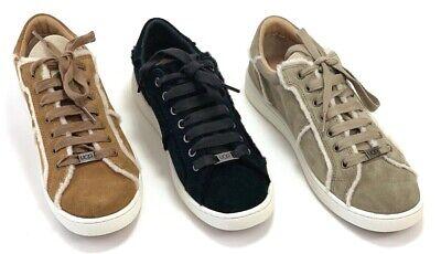 3dc580ef234 UGG Women's Milo Spill Seam Suede Lace Up Sneakers in Black, Chestnut,  Antilope | eBay