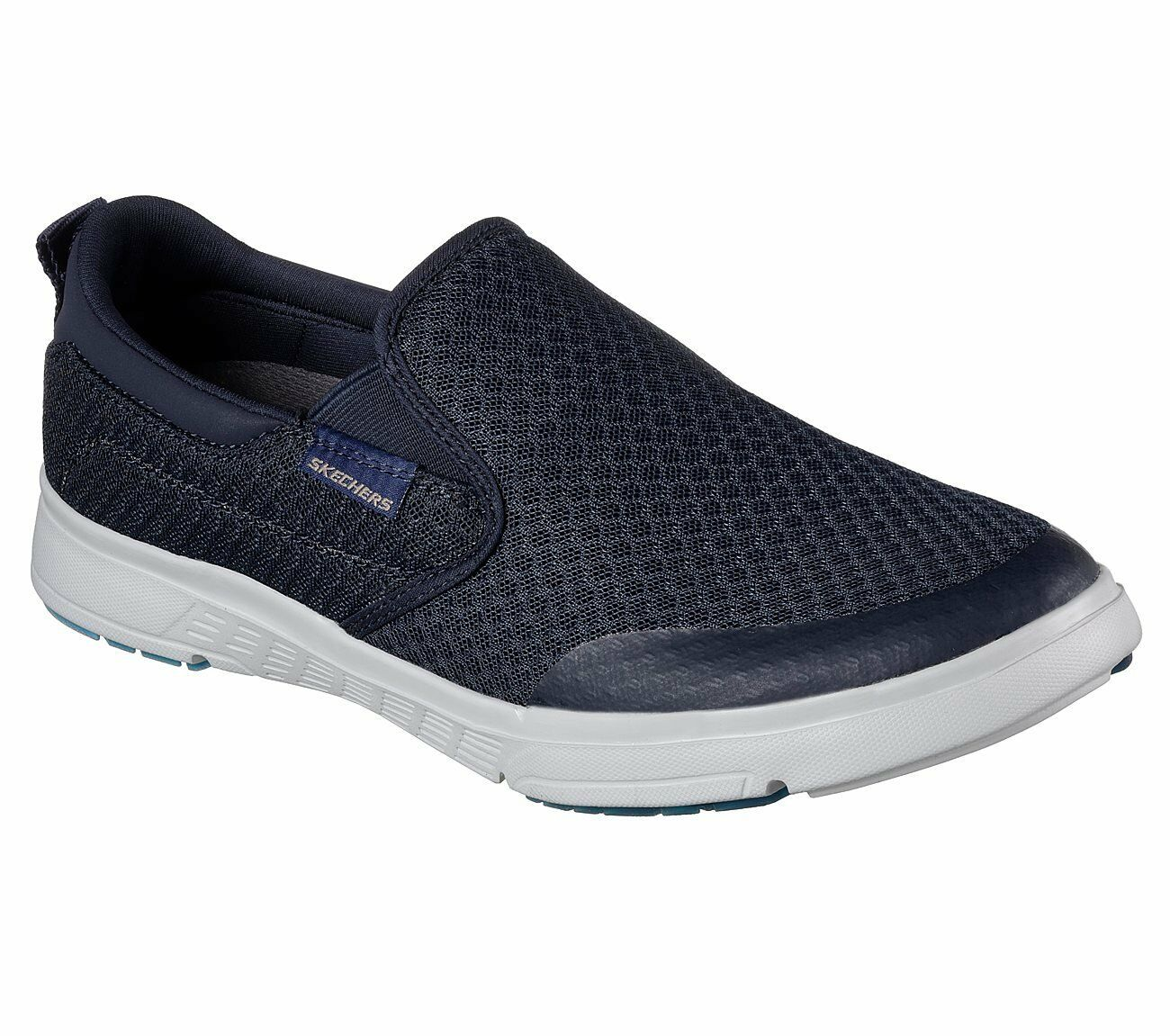 Skechers Moogen Sender Mens Slip On Loafers Navy 10.5