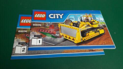 NO Parts 4204 60004 60013 60036 60074 New Lego City instructions choose any