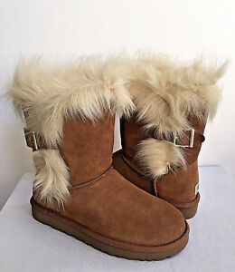 605cca410ae Details about UGG CLASSIC SHORT DEENA CHESTNUT TOSCANA CUFF BOOT US 9 / EU  40 / UK 7.5