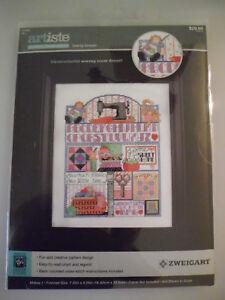 Kooler Design Studios Zweigart Artiste SERENITY PRAYER Cross Stitch Kit