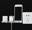 Stainless Steel Wall Mount Holder for Shavers Phones and Wires