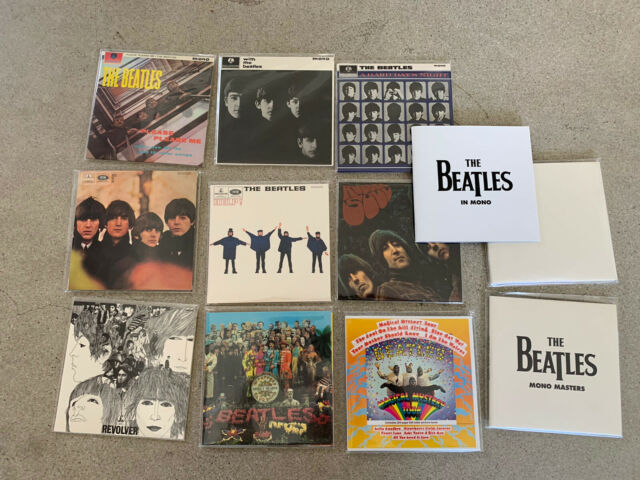 THE BEATLES IN MONO CD - COMPLETE BOX SET  (CDs) | MINT