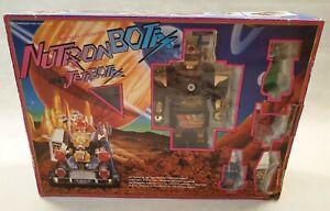VINTAGE nutron BOTIX e jetabotix Robot e Auto in scatola Cheng Ching Toys 1984