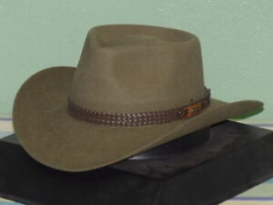 bc21330f3f8 Image is loading AKUBRA-SNOWY-RIVER-IMPERIAL-FUR-FELT-STOCKMANS-HAT