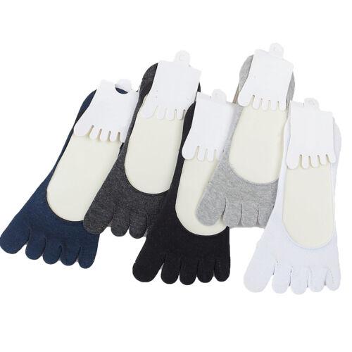 Damen Low Cut Zehe Socken Sommer Beiläufig unsichtbar fünf Finger Socken
