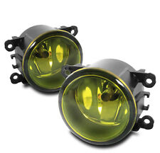 FRONT BUMPER DRIVING FOG LIGHTS YELLOW FOR RDX TSX FUSION EXPLORER FOCUS FIESTA