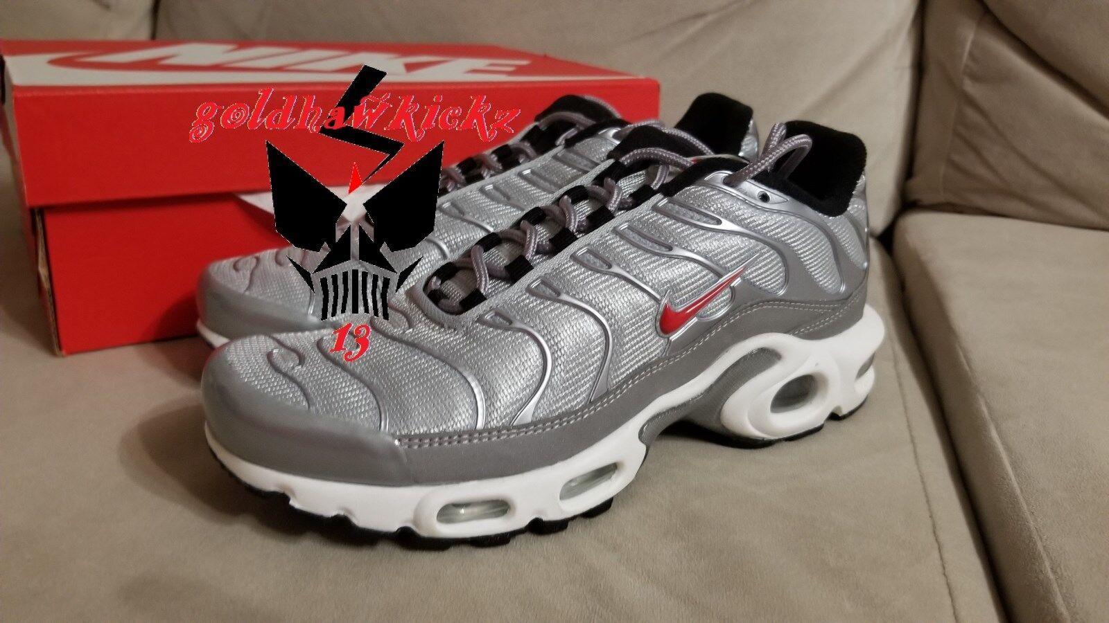 nike air max plus QS 887092 001 metallic Silver Bullet nikelab women running 3m