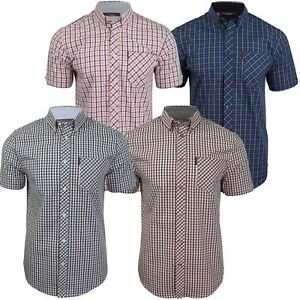 3fc103a807 Image is loading Mens-House-Check-Shirt-by-Ben-Sherman-Short-