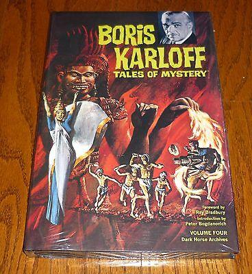Dark Horse Comics Hardcover Gold Key Boris Karloff Archives Volume 1 SEALED