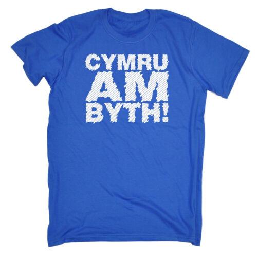 Cymru Am Byth Forever Wales T-SHIRT Pride Nation UK Welsh Patriot Birthday