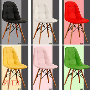 4-X-Retro-Eiffel-style-salle-a-manger-cuisine-bureau-Cuir-Chaise-Design-DSW-0
