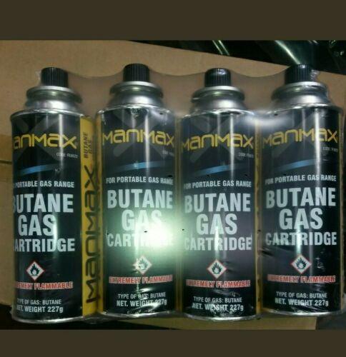New 4 X Butane Gas Cartridges